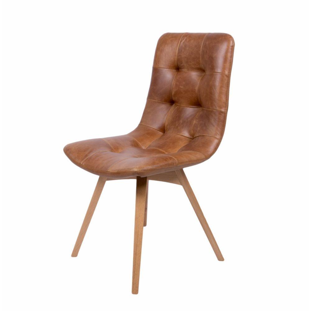 Adriana - Cerato Brown leather
