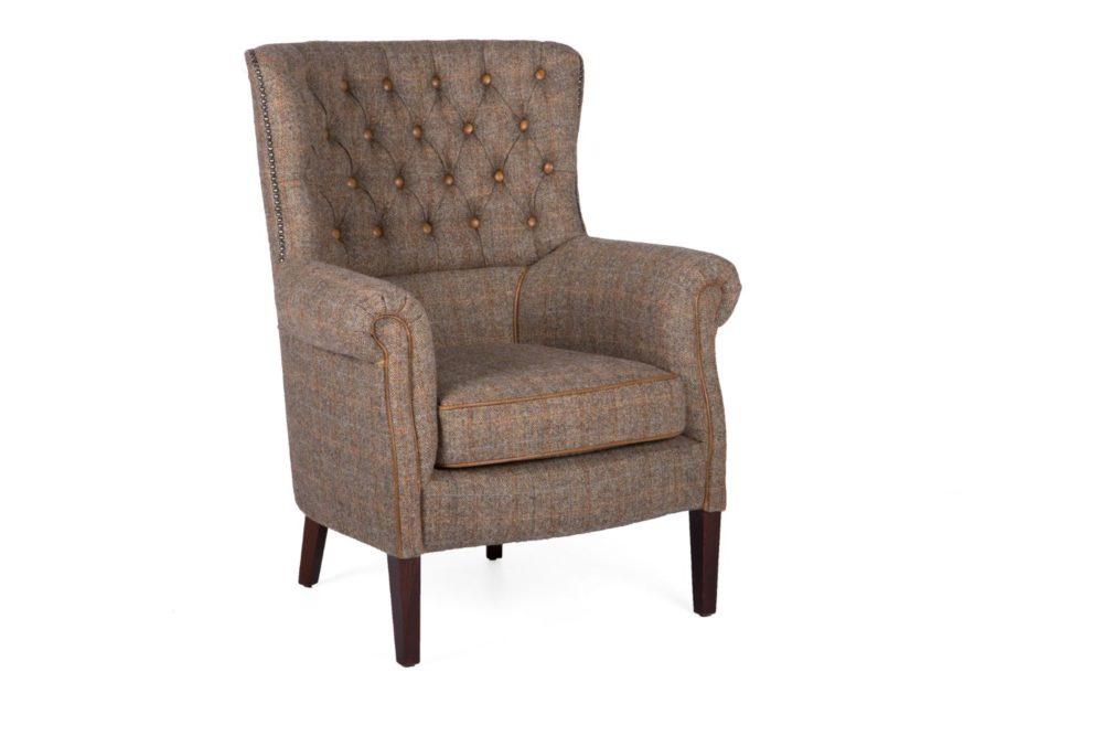 Cartmel 1 Occasional Chair - HT Gamekeeper Thorn