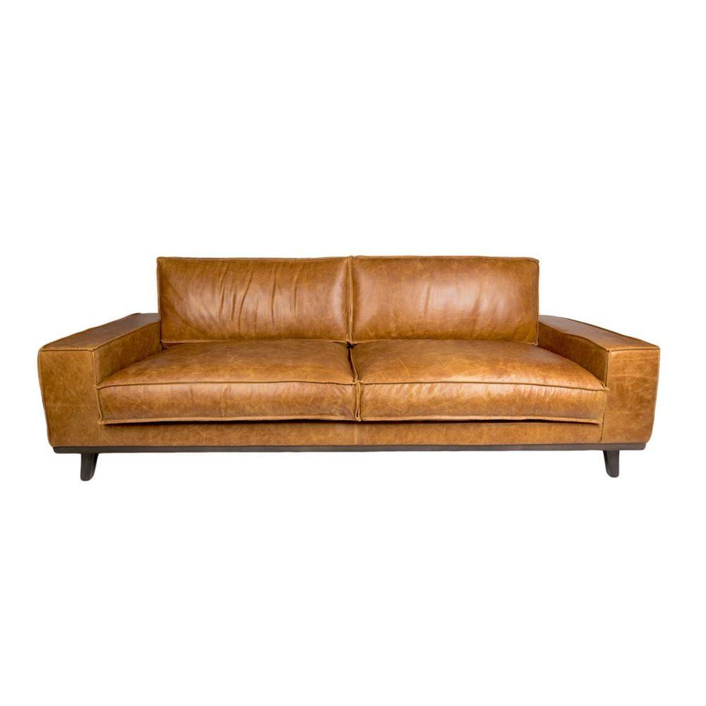 Duke 4 Sofa - Brown Cerato