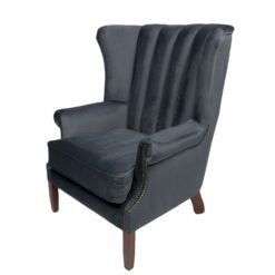 Gatsby Occasional Chair - Opulence Charcoal