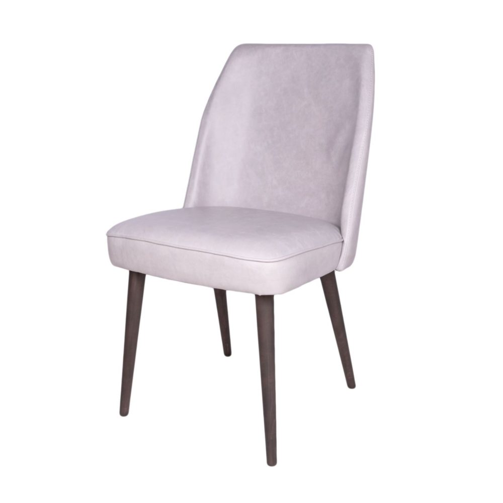Jenna Chair - Cerato Taupe Leather