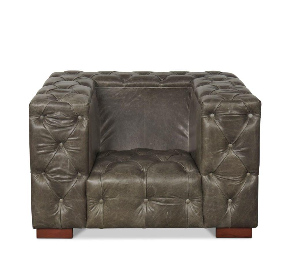 Texas - Grey Cerato Leather