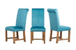 Windermere Chair - Opulence Cerulean